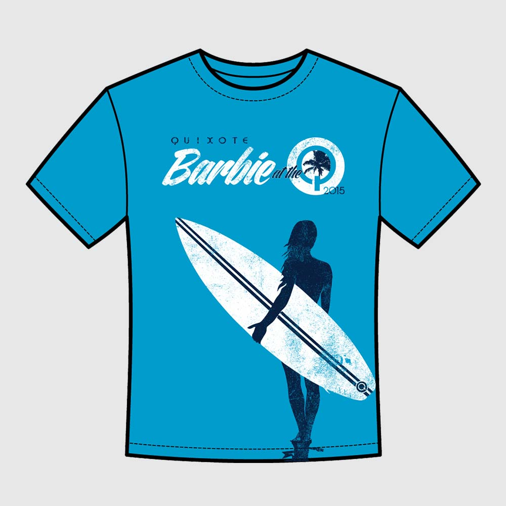 Barbie Surf T-Shirt Proof